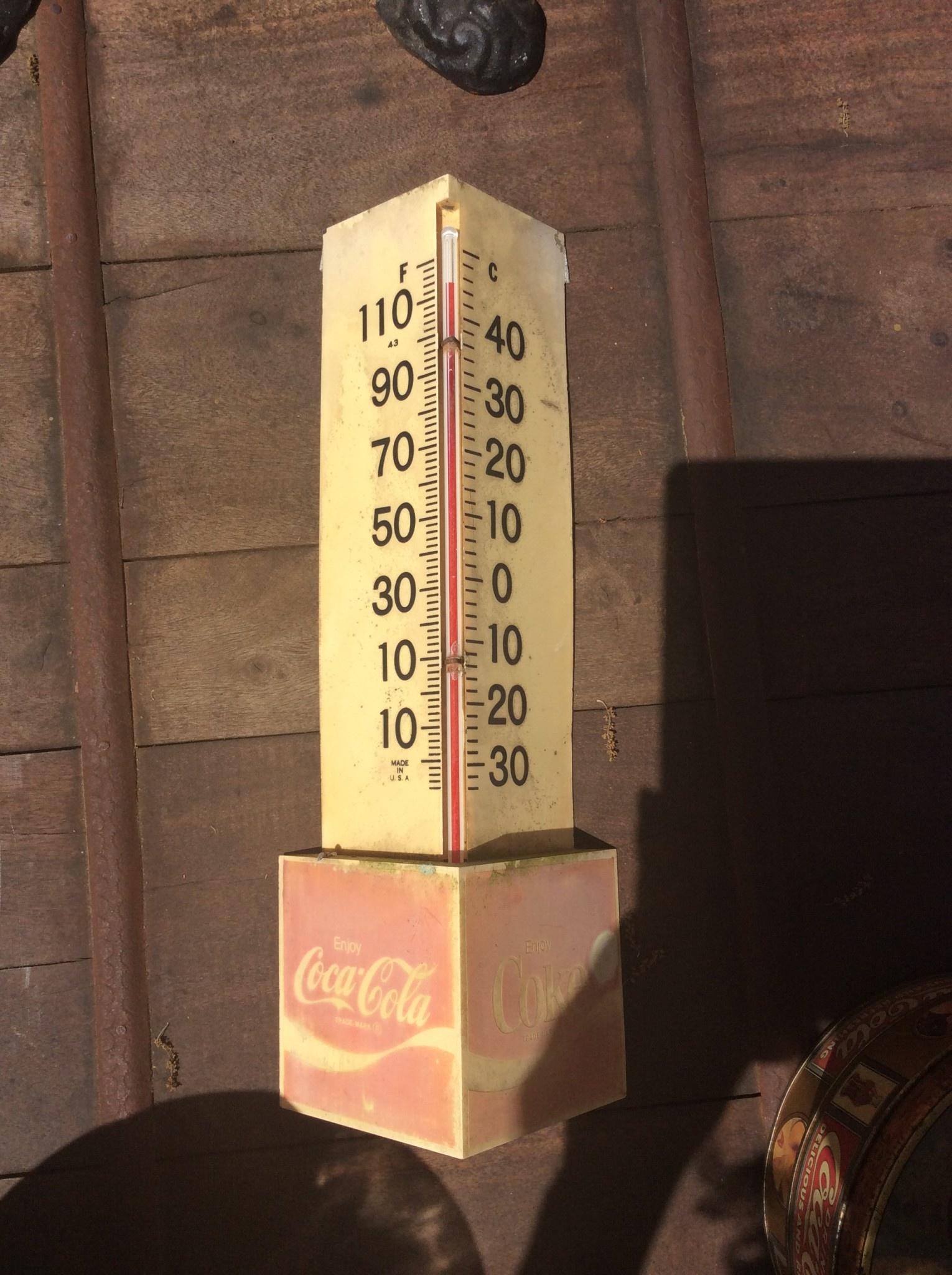 Coke thermometer