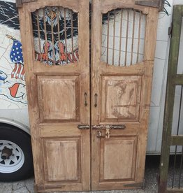 "Tiger Door Tan 22""w x 73 1/4""h"