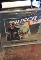 Busch NASCAR Mirrored sign
