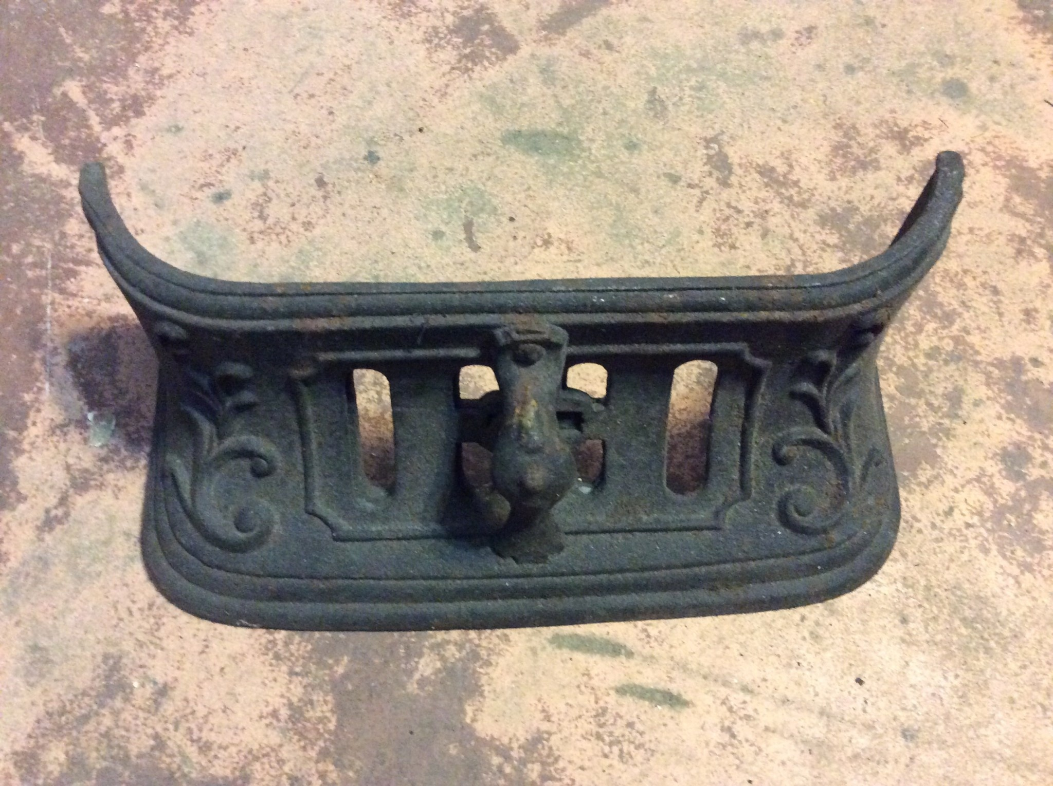Cast Iron Stove part