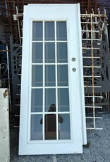 """15 Panel Glass Door  30""""w x 79""""h"""