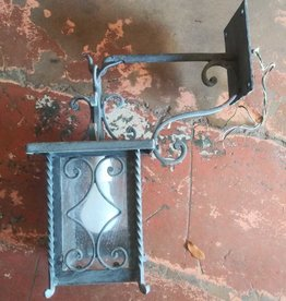 Cast Iron Sconce