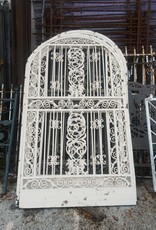 "White Arched Fence Section  49""w x 83""h"
