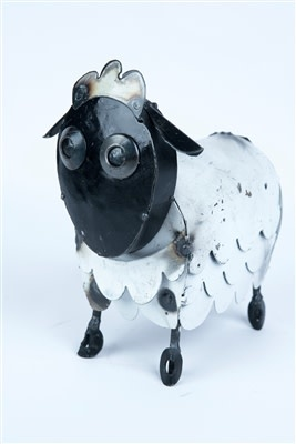 "Micro Sheep 9.5""H x 7""L x 3.5""W"