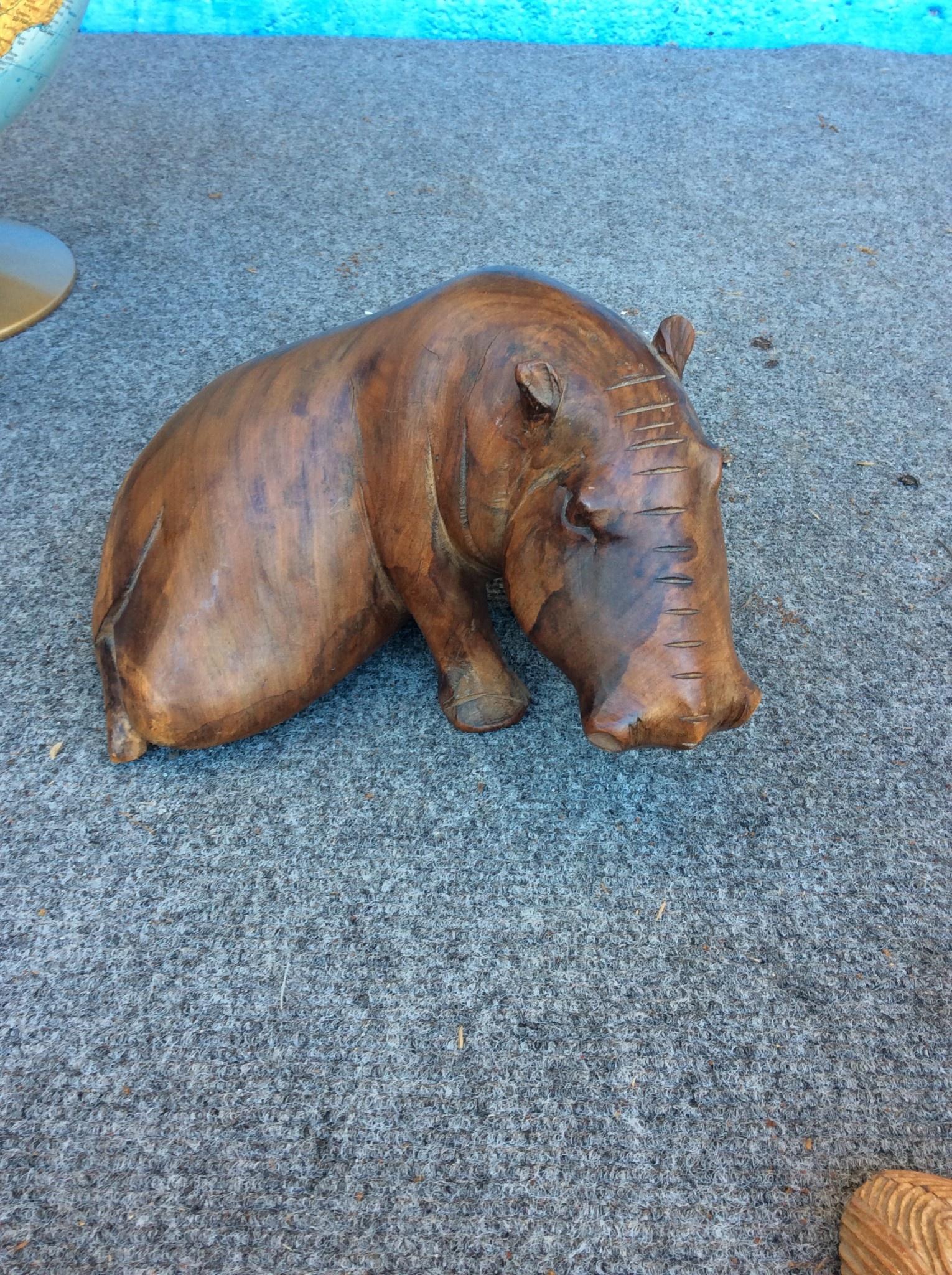 Wooden warthog