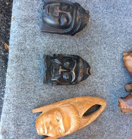 Small carved wooden mask
