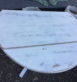 """Shabby Chic Drop Leaf Table 36"""""""