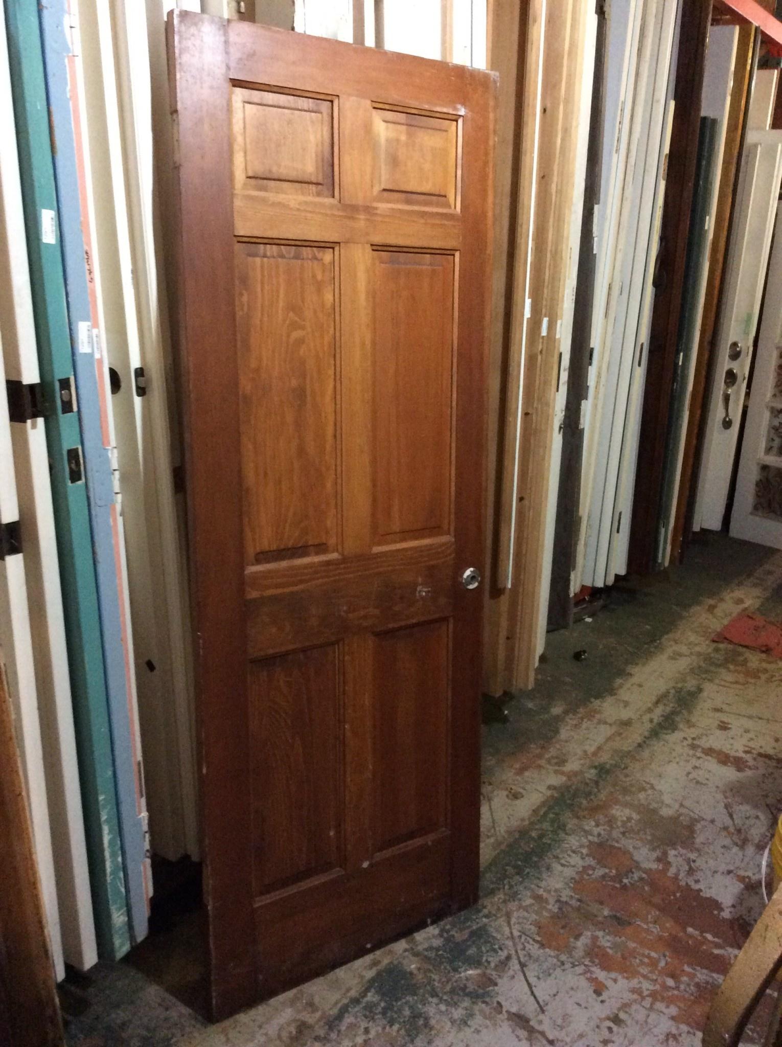 """6 Panel Door 29 5/8"""" x 79 1/2"""