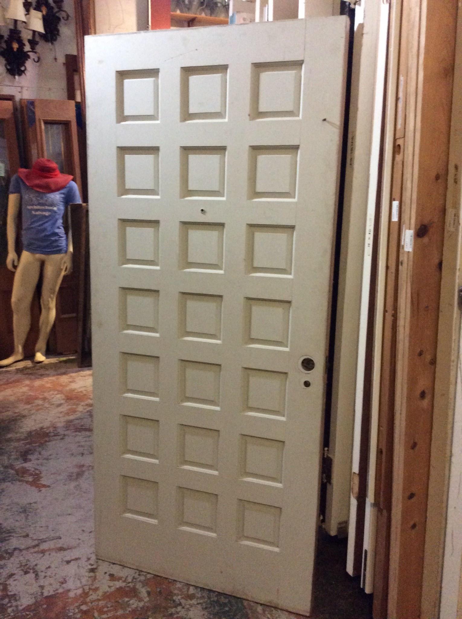 """21 Panel Wood Door 36"""" x 80"""""""