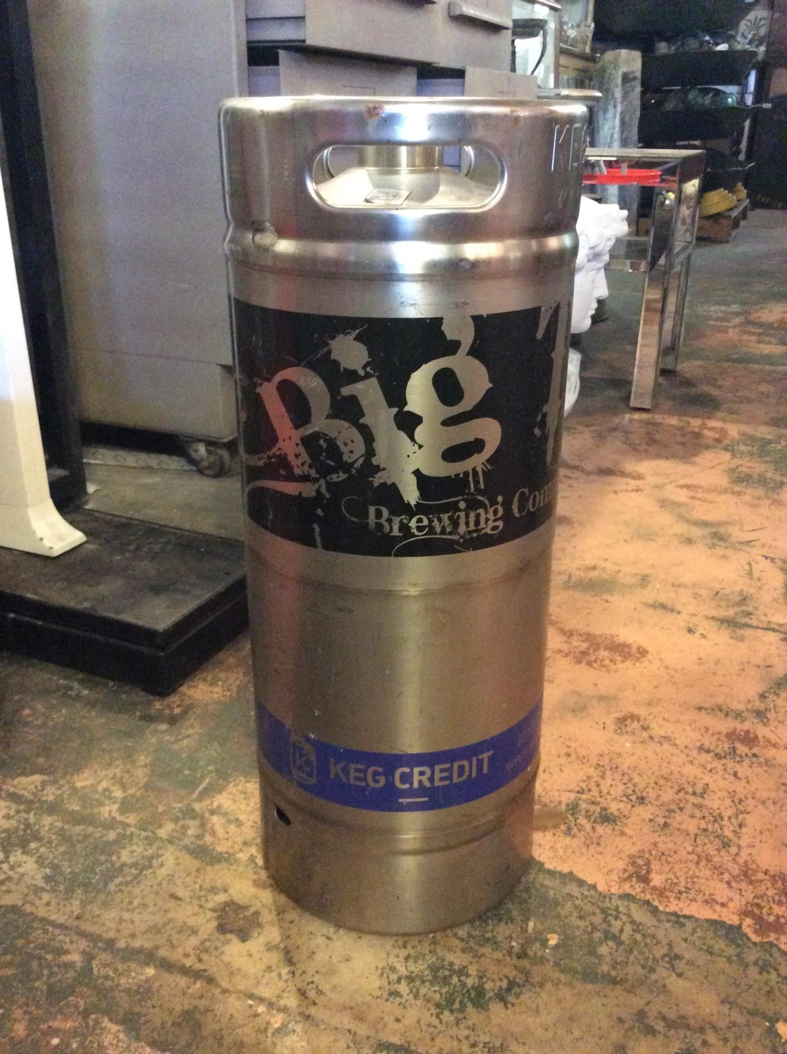 Big top keg