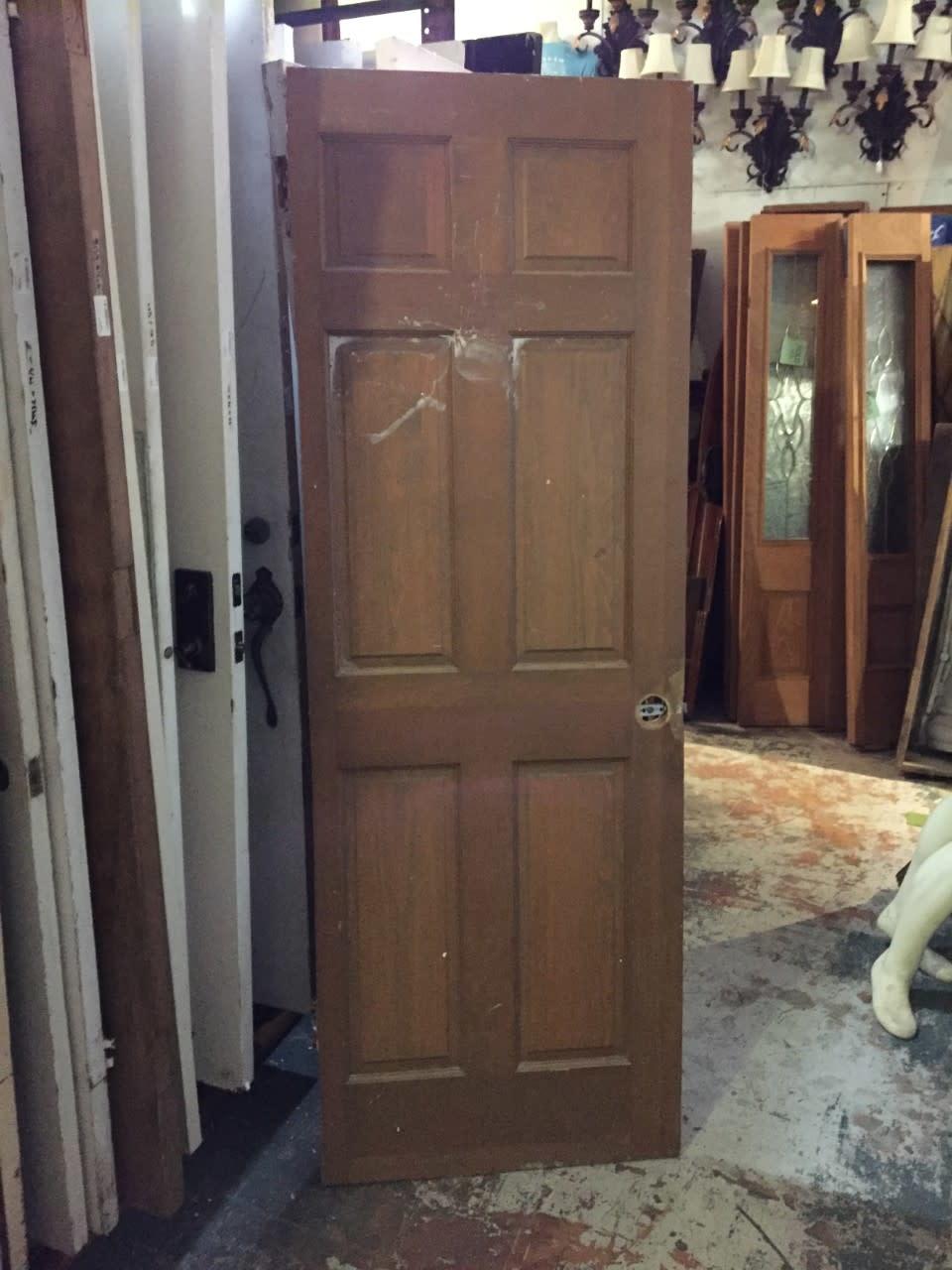 """6 Panel Door 27 1/2"""" x 79 3/4"""""""