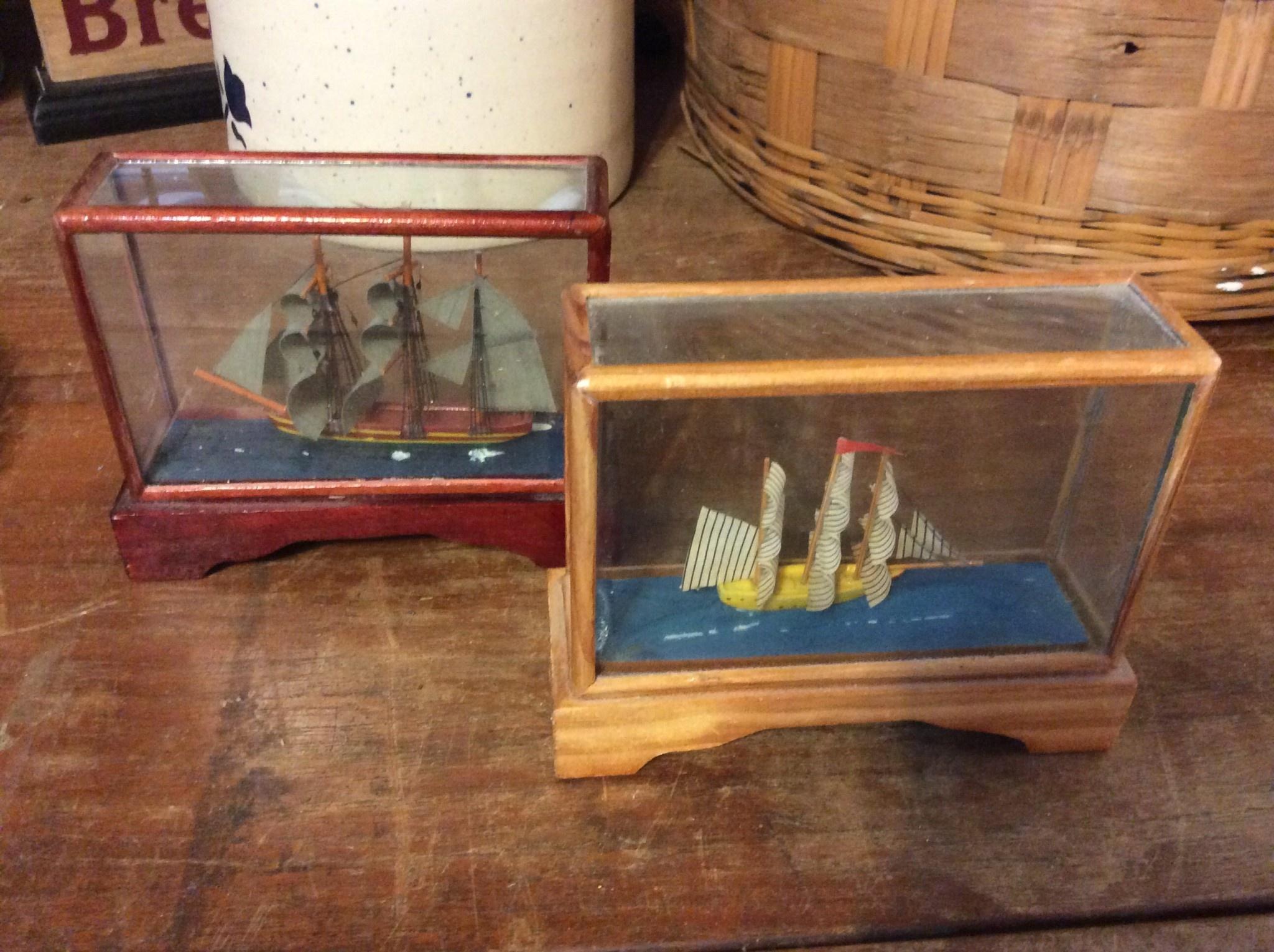 Small ship in case