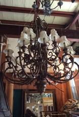 20 light chandelier