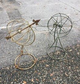 Wire Globe Stand