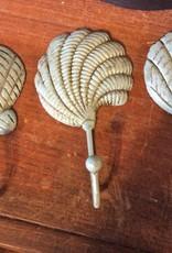 Blue sea shell single hook