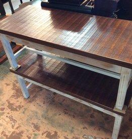Tiger wood bench