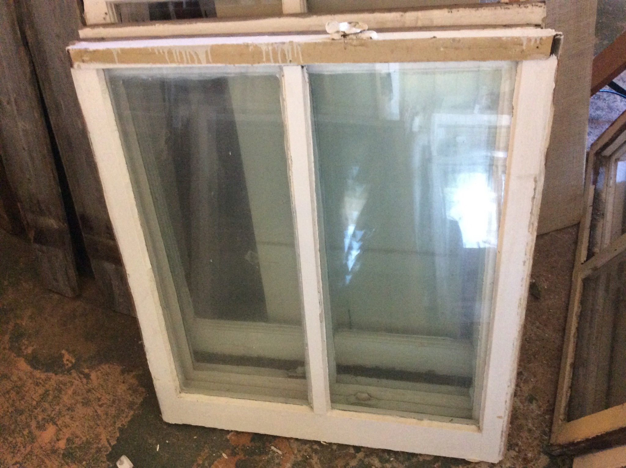 "2 Pane Window 28 3/4""w x 32 1/4""t"
