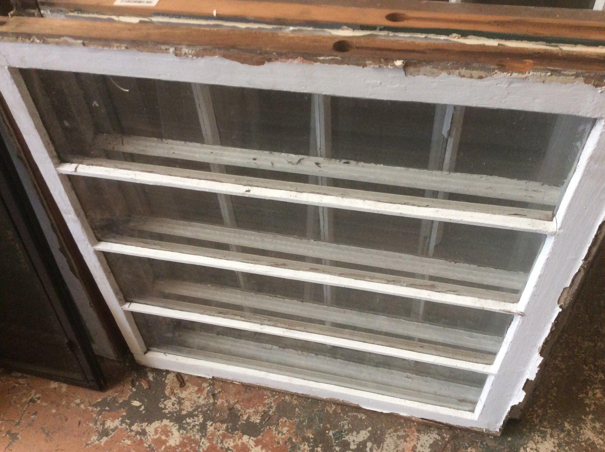 """4 Panel Glass Window 27 7/8""""w x 29 1/2""""t"""