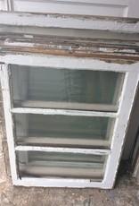 """3 Panel Glass Window 28 1/4""""w x 21 1/2""""t"""