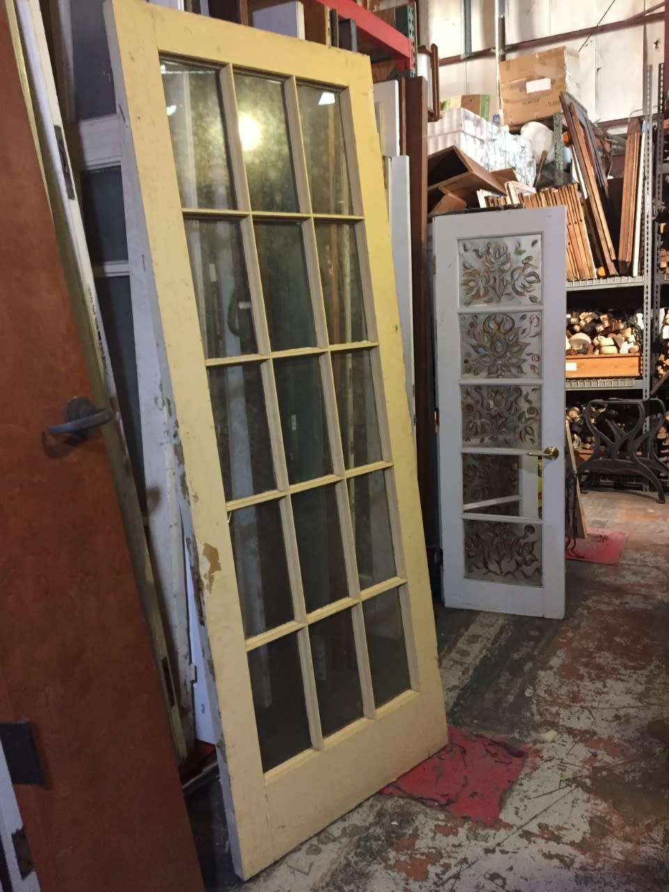 "15 Panel Glass Door 36""w x 94 1/4""t"