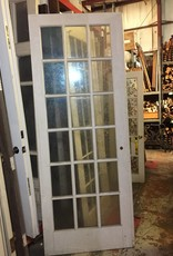 "18 Panel Glass Door 36"" x 94"""