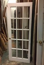 """15 Glass Panel Door 30"""" x 76 3/8"""""""