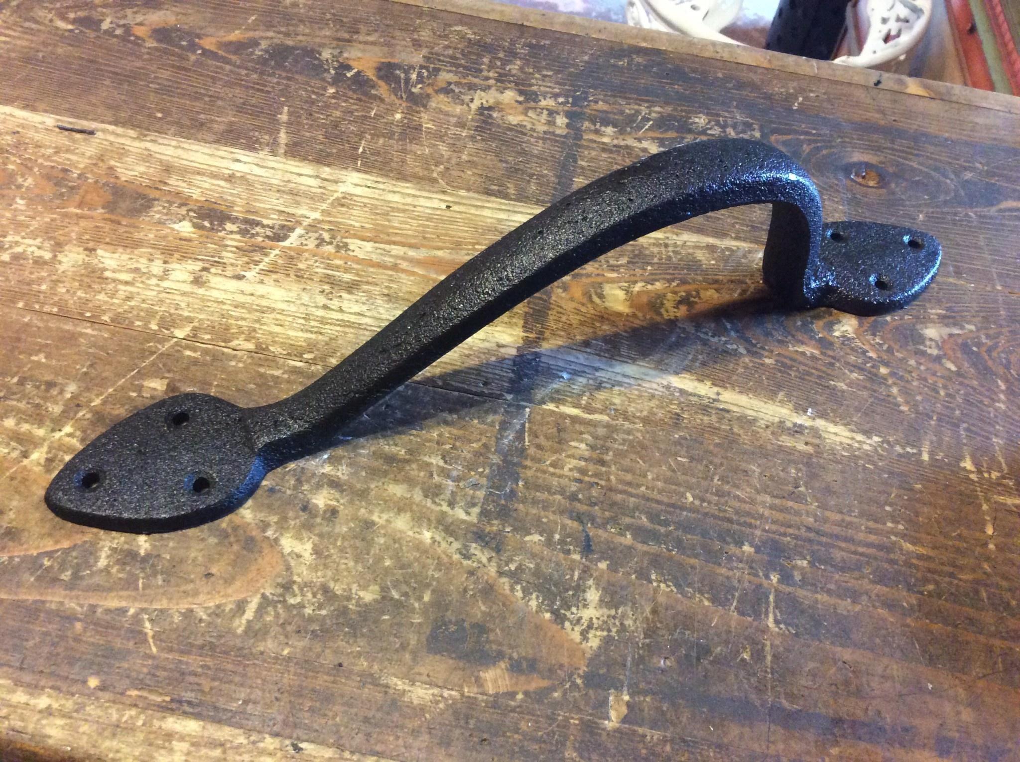 Large iron handle