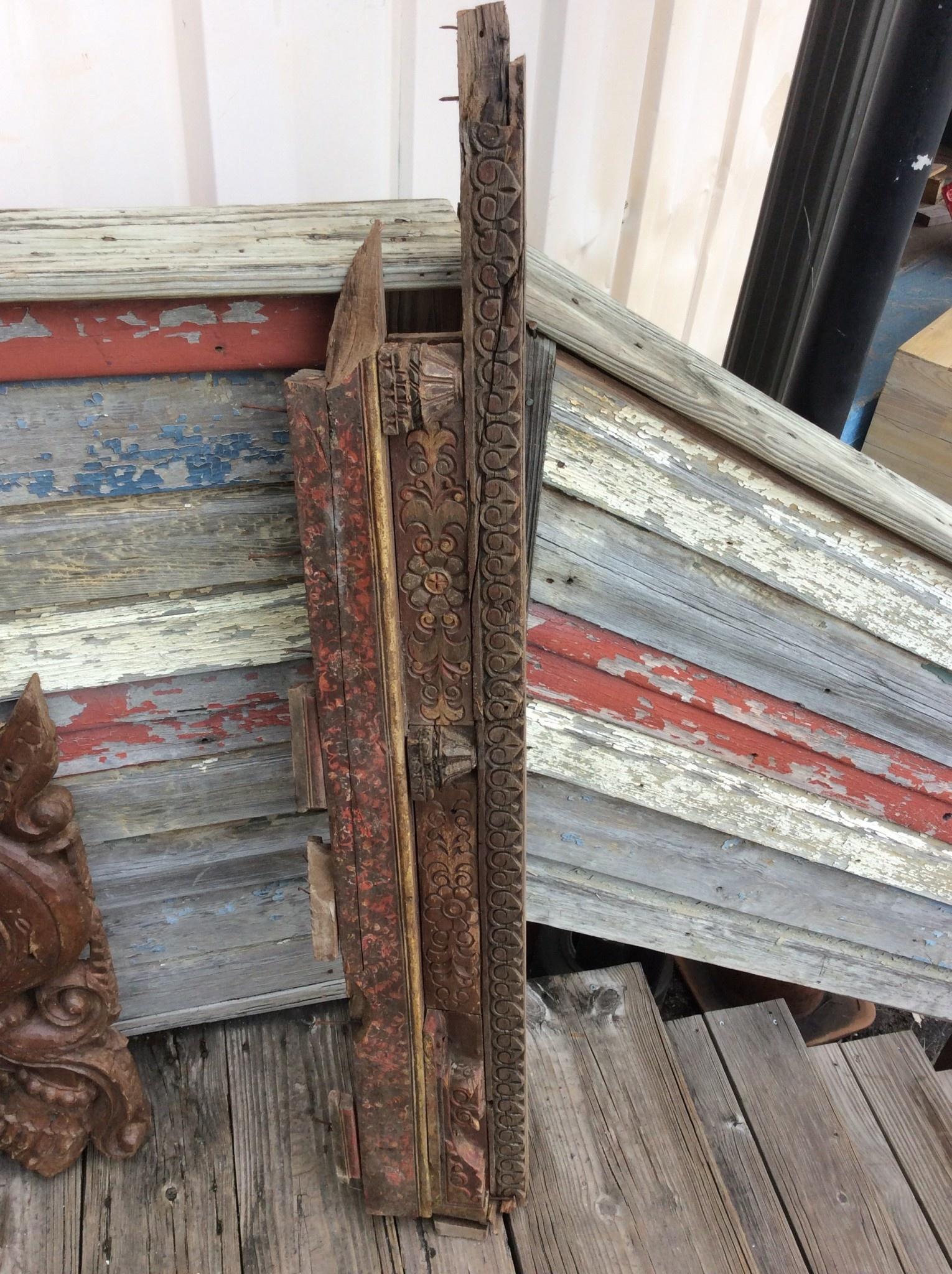 19th century door frame part style 14