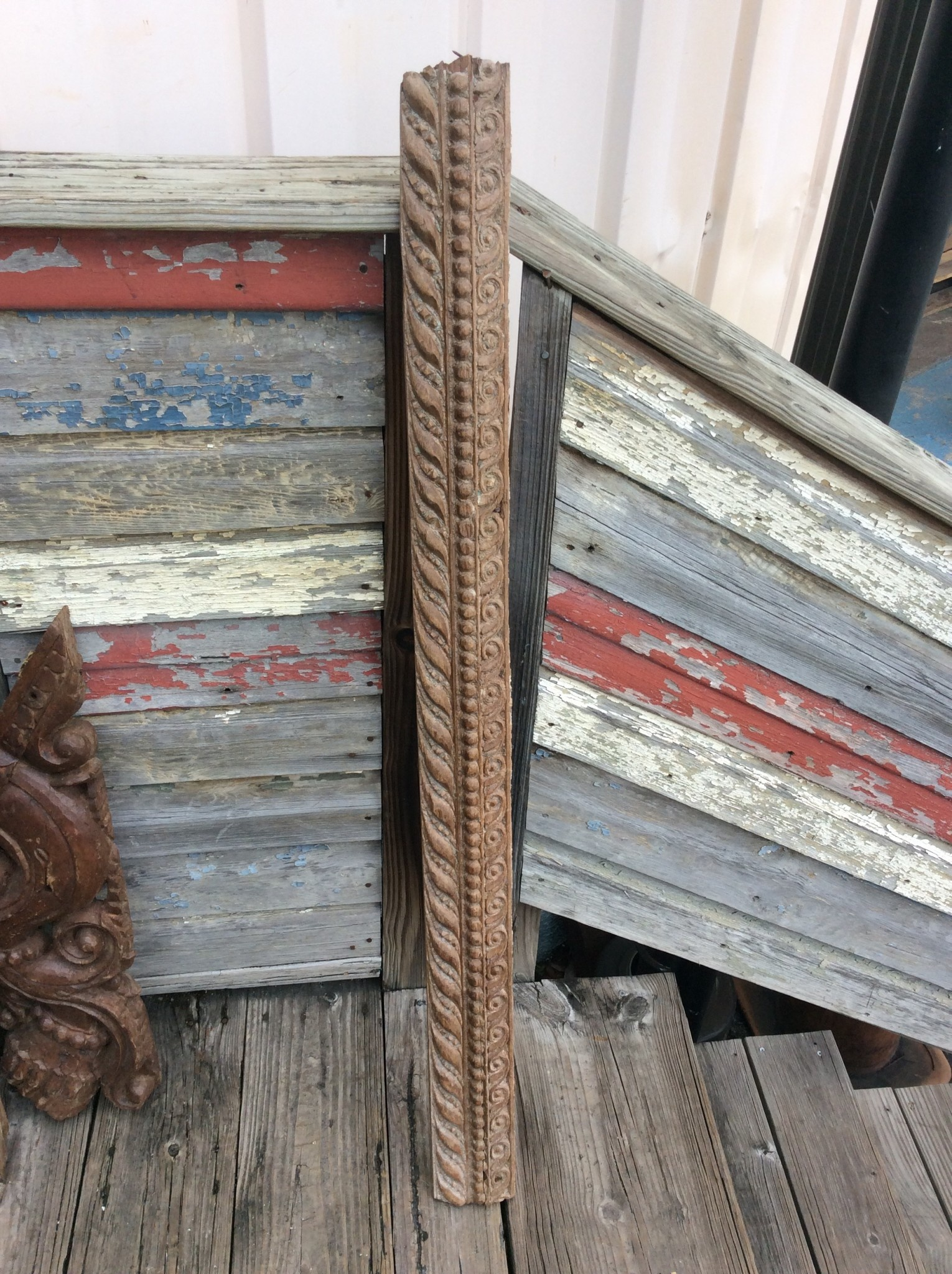 19th century door frame part style 18