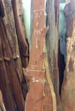 """Cedar Slab 7-12"""" x 148"""" x 1.5"""""""