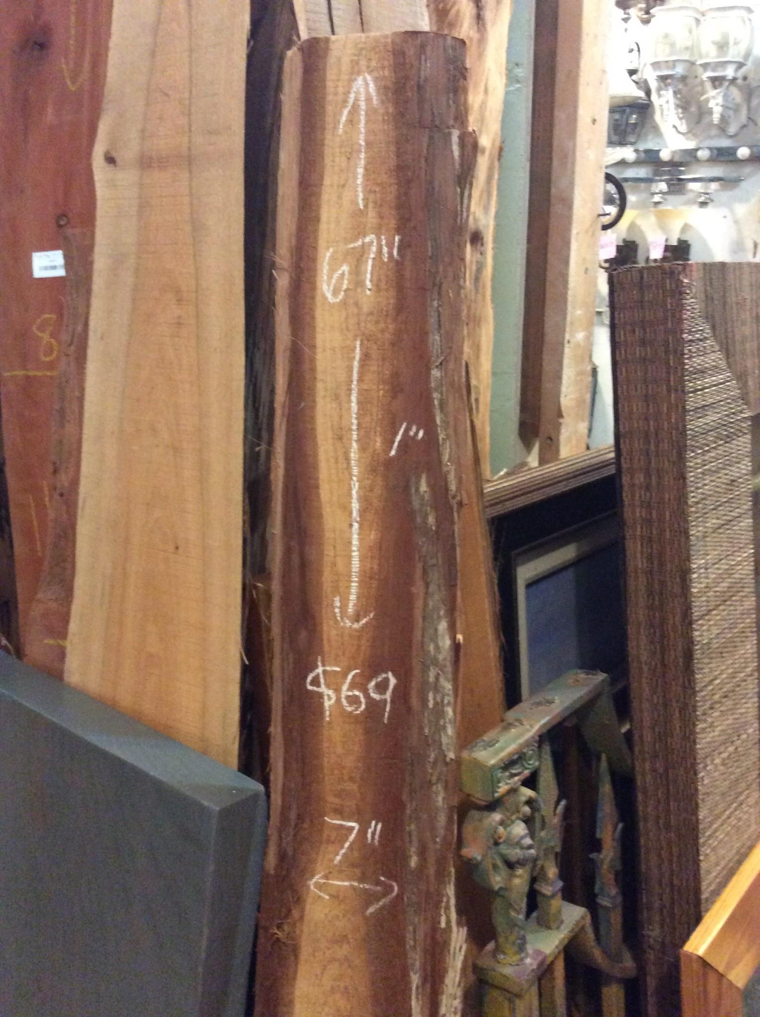"""Cedar Plank 7"""" x 67 x 1"""""""