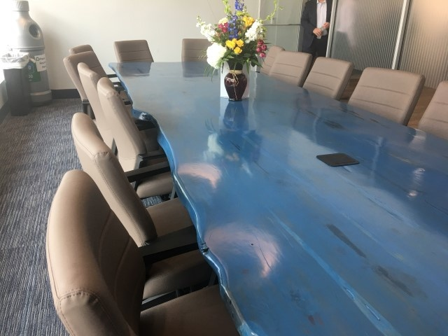 Conference Table installed