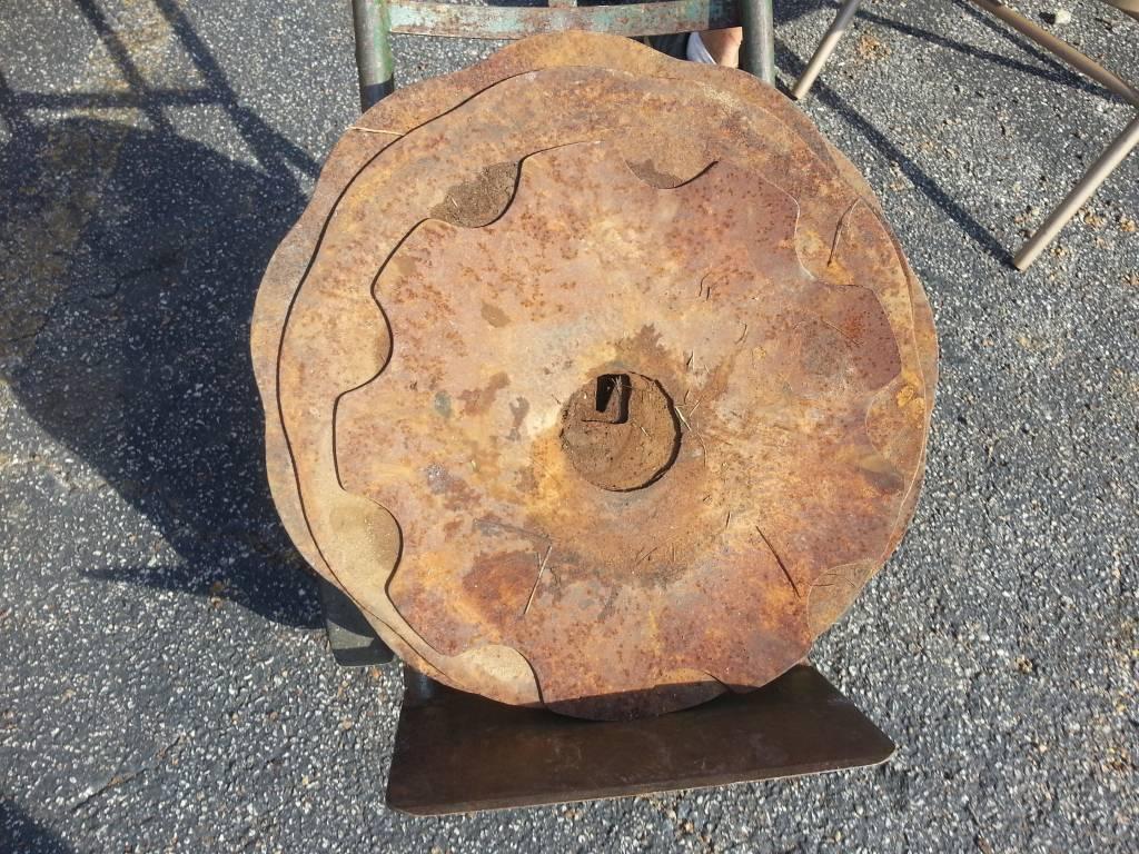 Table Decor - Farm Tiller Blade