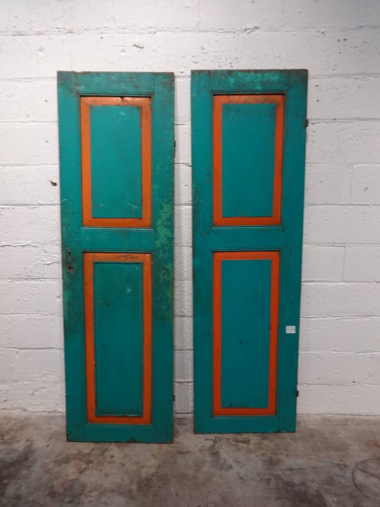 Green Indonesian Door Set