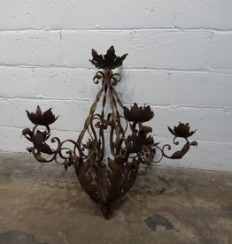 Iron Flower Chandelier