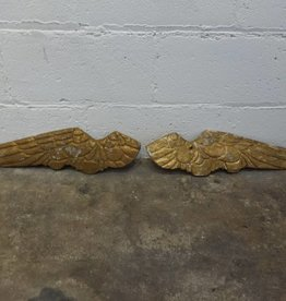 Small Angel Golden Wing Set