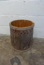 Tree Painted Barrel