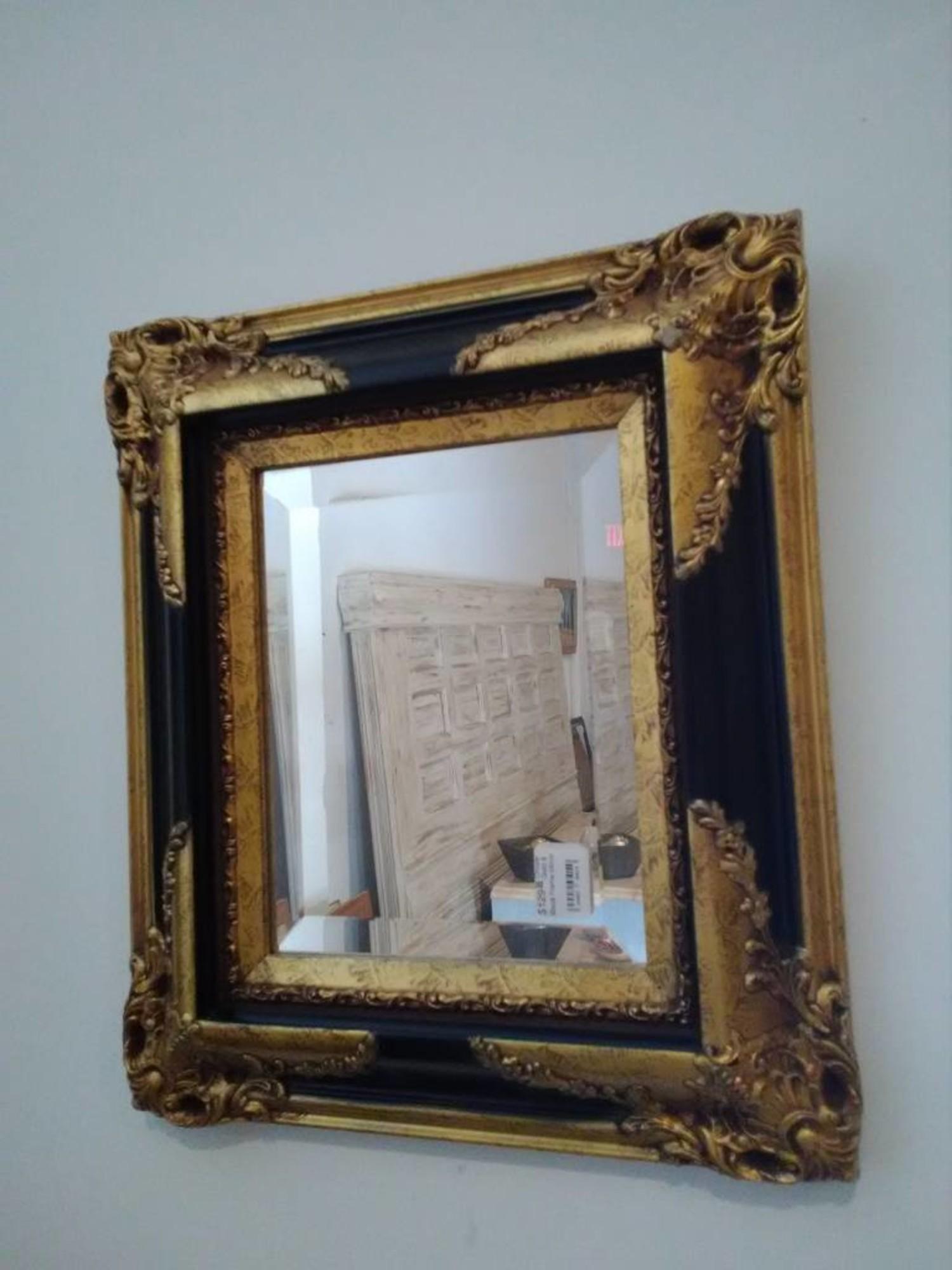 Ornate Gold Black Frame Mirror Sarasota Architectural Salvage 1093 Central Ave Sarasota Fl 34236