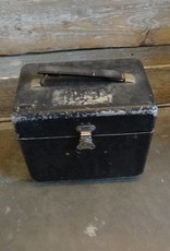 Black Metal Box Container