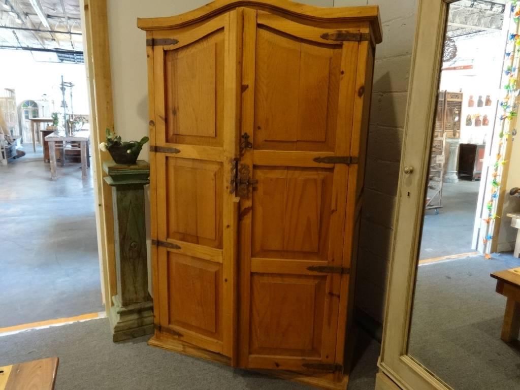 Antique Three Shelf Armoire