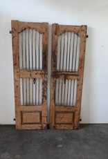 Peach Iron & Teak Indian Gates SET