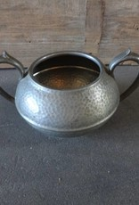 Pewter Double Handle Bowl