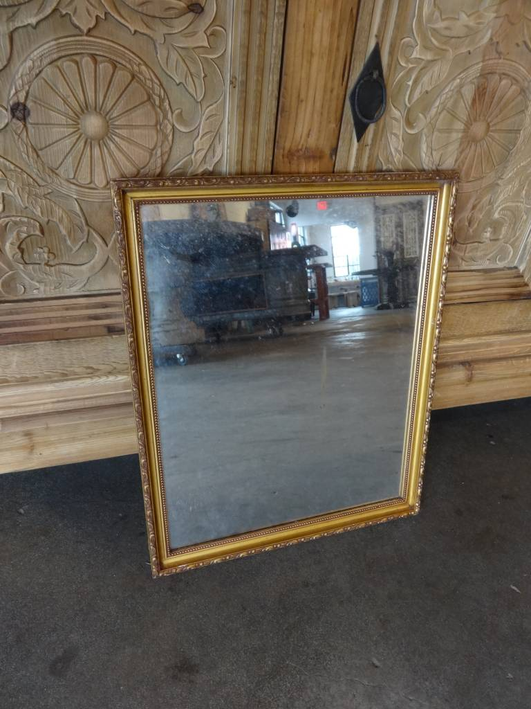 Simple Gold Framed Mirror Sarasota Architectural Salvage 1093 Central Ave Fl 34236