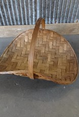 Bamboo Magazine Basket w Handle