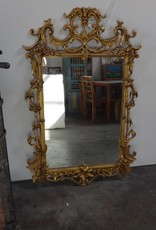Ornate Golden Mirror
