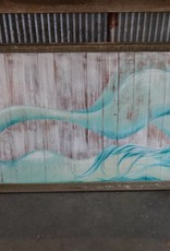 "Alexis Fraser - Sleeping Mermaid - +67"" x 32.5"