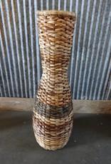Woven Cane Decorative Basket