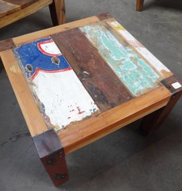 small square boat coffee table