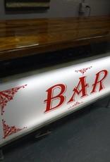 Tuxedo Sign Cypress Bar