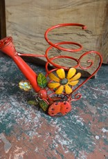 Lady Bug Water Can Wire Holder